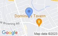 Map of Bellmawr NJ