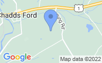Map of Chadds Ford PA