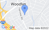 Map of Woodlyn PA