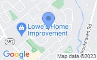 Map of Brookhaven PA
