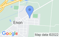Map of Enon OH
