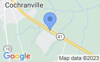Map of Cochranville PA