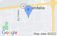 Map of Vandalia OH