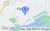 Map of Folcroft PA