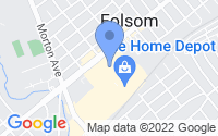 Map of Folsom PA