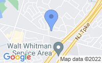 Map of Cherry Hill NJ