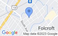 Map of Glenolden PA