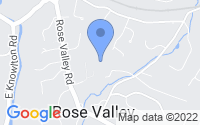 Map of Rose Valley PA