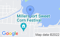 Map of Millersport OH
