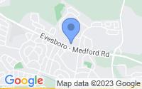 Map of Evesham Township NJ