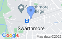 Map of Swarthmore PA