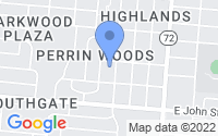 Map of Springfield OH