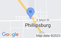 Map of Phillipsburg OH