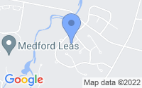 Map of Medford NJ