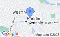 Map of Haddon Township NJ