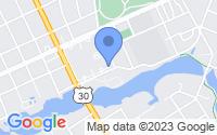 Map of Oaklyn NJ