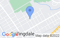 Map of Collingdale PA