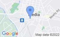Map of Media PA