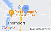 Map of Thornville OH