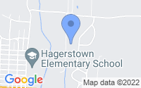 Map of Hagerstown IN