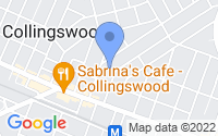 Map of Collingswood NJ