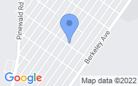 Map of Beachwood NJ