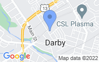 Map of Darby PA
