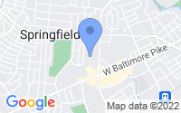 Map of Springfield PA