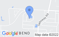 Map of Galloway OH