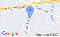 Map of Cherry Hill NJ