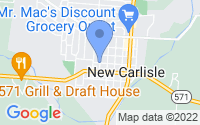 Map of New Carlisle OH
