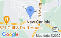 Map of New Carlisle OH