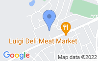 Map of Toms River NJ