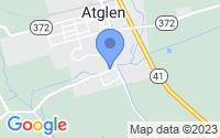 Map of Atglen PA