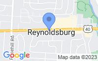 Map of Reynoldsburg OH