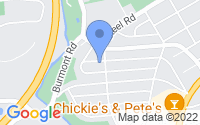 Map of Drexel Hill PA