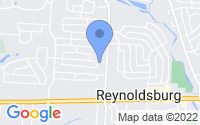 Map of Reynoldsburg OH