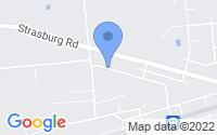 Map of Parkesburg PA