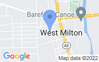 Map of West Milton OH