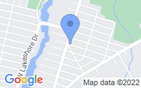 Map of Browns Mills NJ
