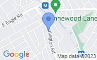 Map of Havertown PA