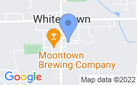 Map of Whitestown IN