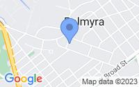 Map of Palmyra NJ