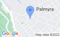 Map of Palmyra NJ