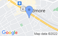 Map of Ardmore PA