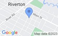 Map of Riverton NJ