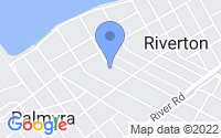 Map of Riverton NJ