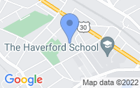 Map of Haverford PA