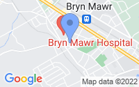 Map of Bryn Mawr PA