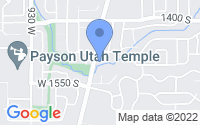 Map of Payson UT